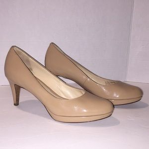 Cole Haan Nike Air Nude Heels Shoes